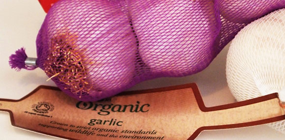 Packaged Garlic